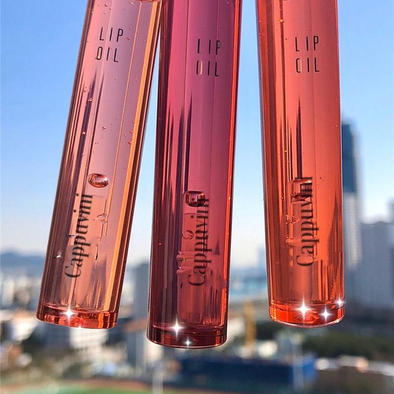 Lèvre brillant fruit naturel gelée gelée huile brillante brillant hydratant maquillage maquillage liquide rouge à lèvres