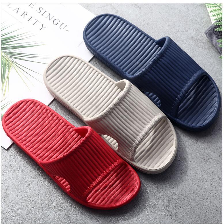 2020 nouvelle arrivée filles maison d'été de la mode chaussures plates pantoufles bureau dame plage décontractée dame à l'intérieur des diapositives douces de grande taille 40 39 noir vert