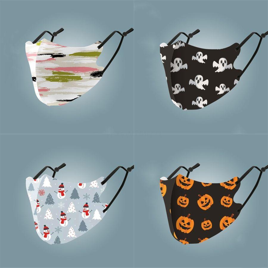 Maske Muster-Sommer-Breathable Maske Staubdichtes Mode Druck Eis-Silk Gewebe Waschbar # 762
