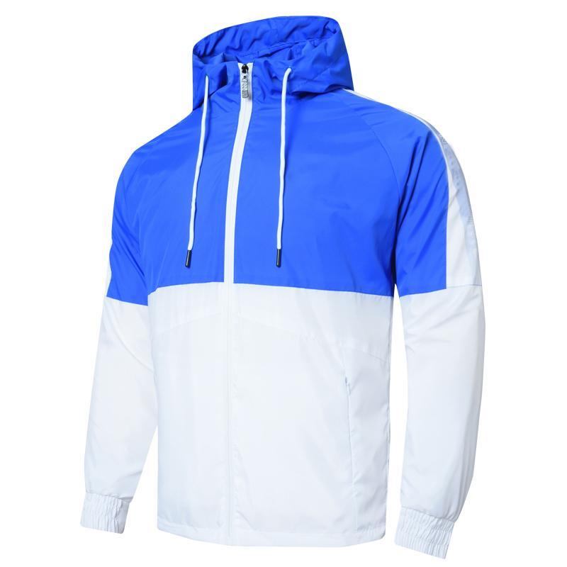 Jacket Homens Mulheres Brasão camisola Mens Hoodie Roupa Asiático Tamanho Hoodies manga comprida Outono Sports Zipper Windbreaker 6VQO primavera