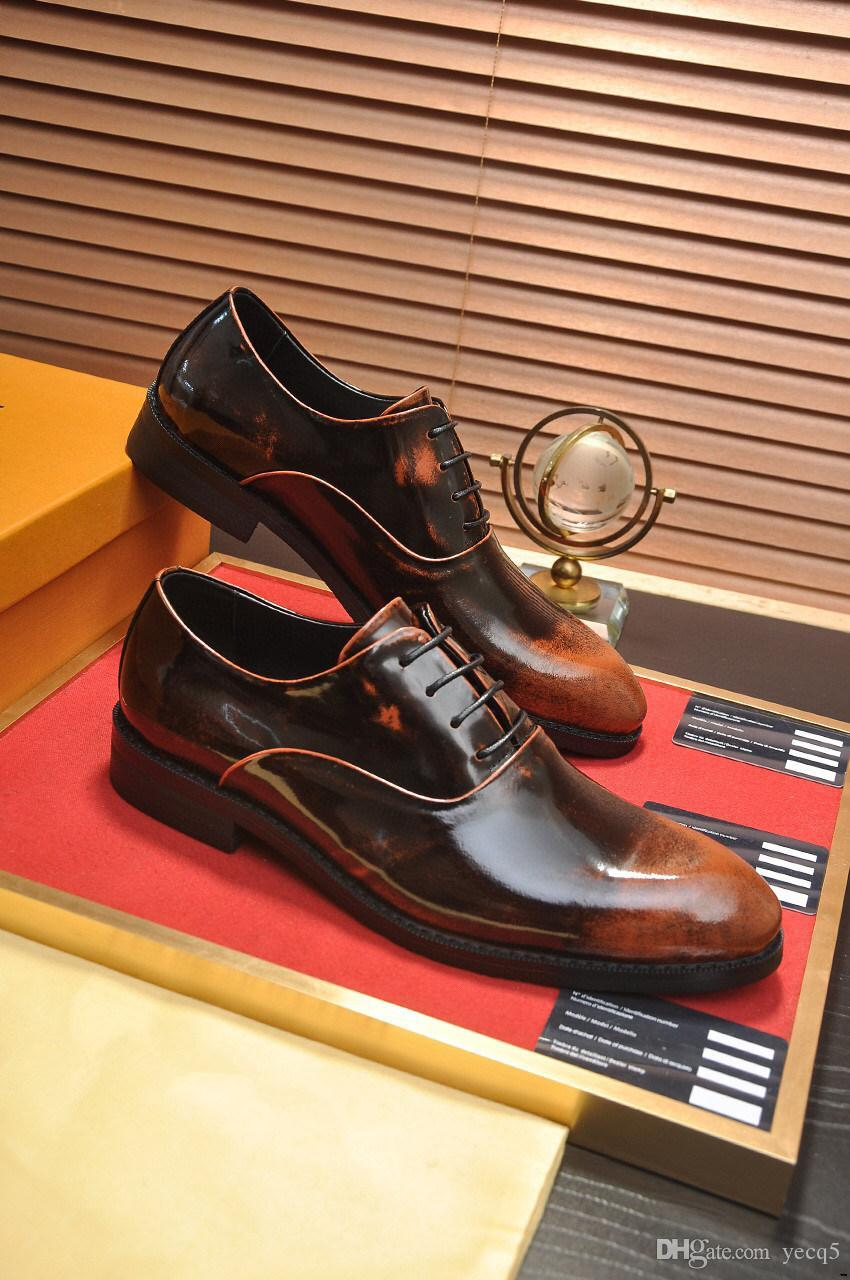 Q5 Scarpe in vera pelle da uomo Formale nappa dei mocassini Designer Designer Dress Shoes Shoes Suit Vestito Office Elegante Scarpe da uomo Matrimonio Mocassin Homme 11