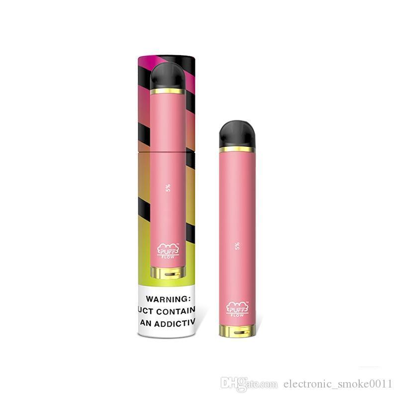 Puff Fluxo Descartável Vape Pod Kit Dispositivo 1000 Puffs 4ml bares sopro fluir vaporizador de Cigarros ELETTRONICHE