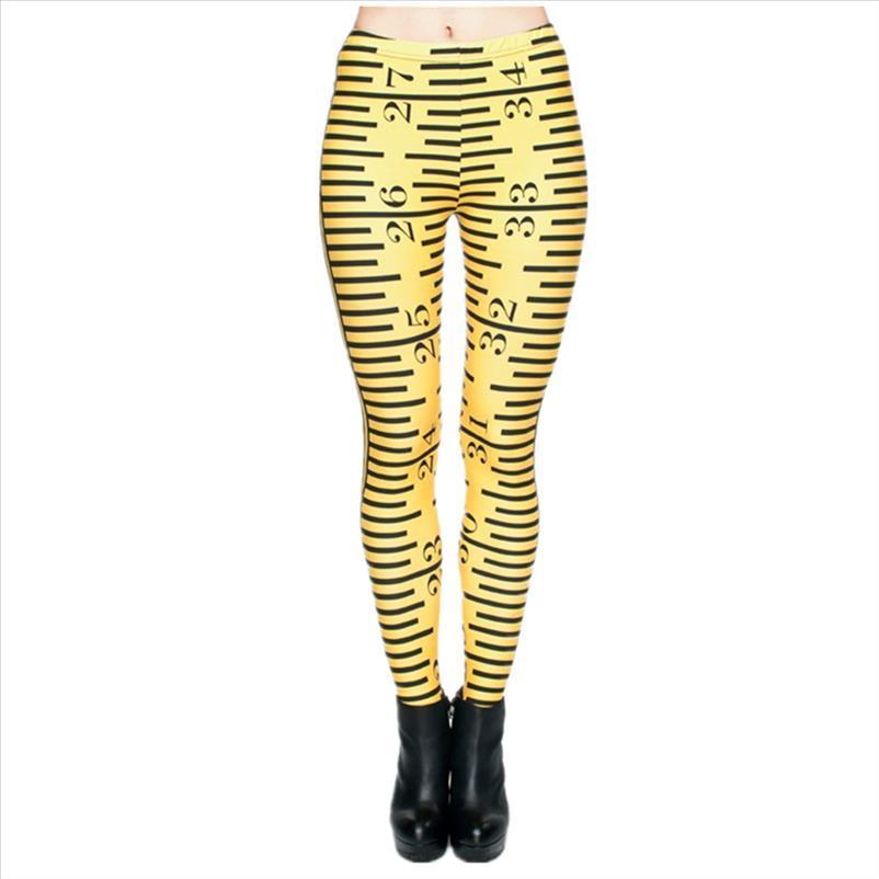 Новых женщины гетры 3D печать Желтой Линейка плед Блестящей Jeggings Sexy легинсы Tayt Фитнес Legging Calzas Mujer Мягкий Legins Девушка