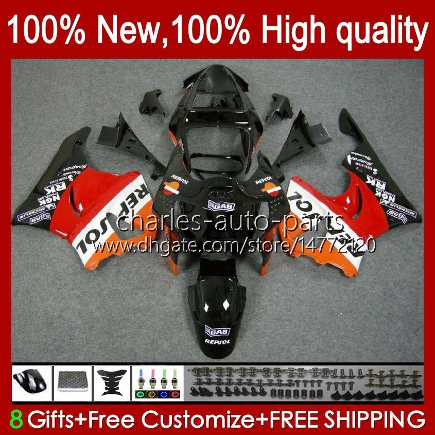 Body Kit für Honda CBR919 CBR900 RR CBR900RR CBR 919RR 900RR 919cc 93HC.7 CBR919RR 98 99 CBR 900 919 CC RR Repsol Red NEUE 1998 1999 Verkleidung