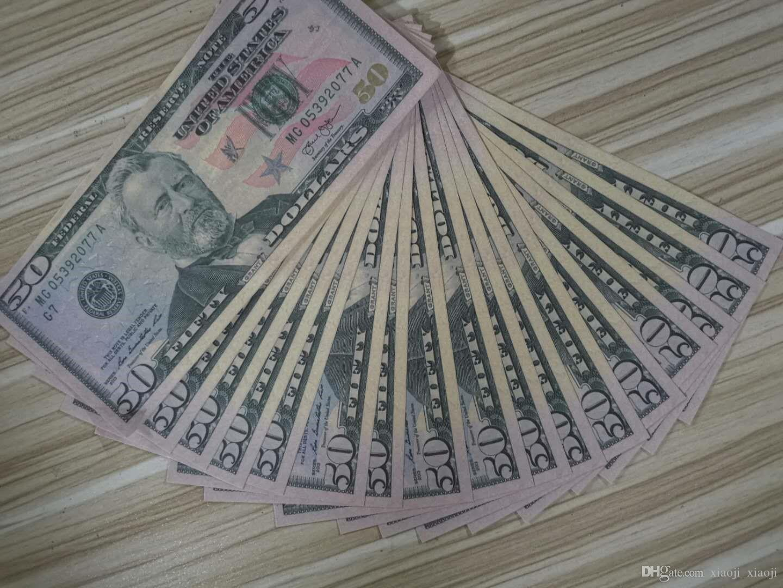 Etapa Proponer dinero adulto libra juguetes Props Money Dollar juego Jugar Película especial Props Bar Juego 16 Oqowo