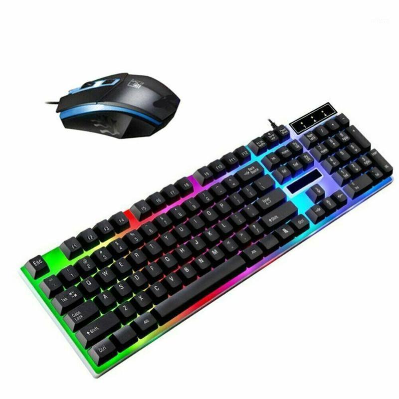 Комбонтарный комбинационный адаптер для мыши клавиатуры для компьютера PS4 / One 360 Gaming Rainbow RGB LED1