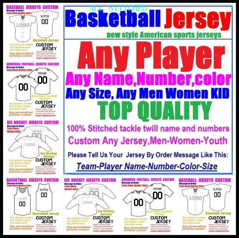 Maglie di football americano personalizzate per uomo da donna giovanile bambini da baseball ghiaccio hockey di pallacanestro colore hockey su ghiaccio calcio jersey boys xxxl 4xl 5xl