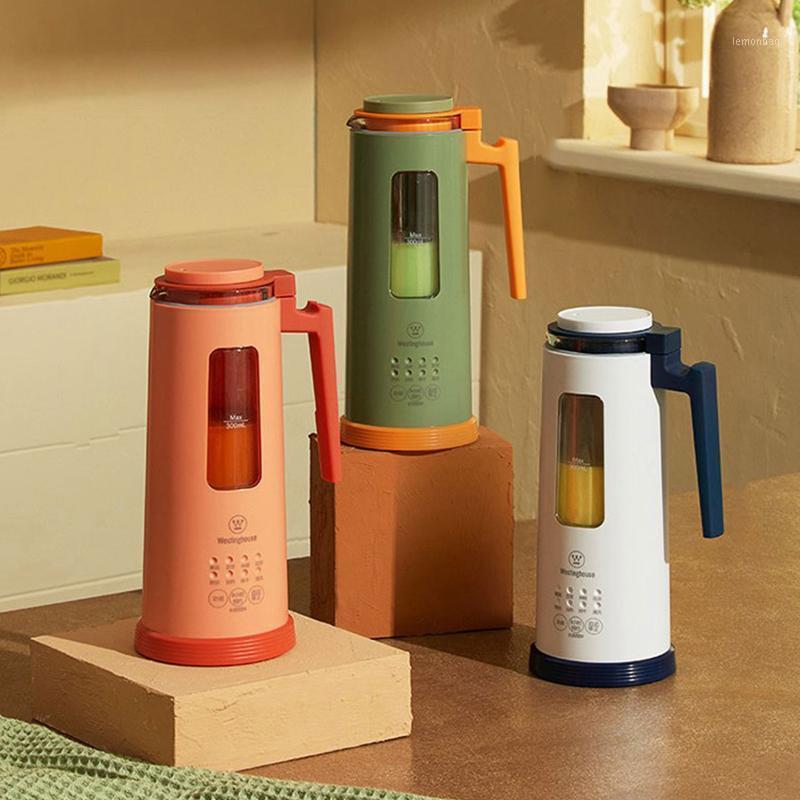 Новый мини Blender Soymilk Maker 300ml многофункциональный соевый молочный станок сок рисовая паста Milkshake Maker 8H Назначение1