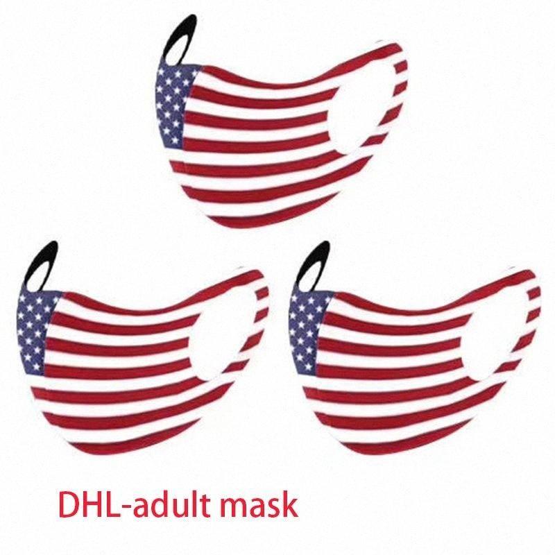 Ткань Открытого Adult DHL пылезащитного American Flag Маска езда моющейся печать Спорт Anti-туман Рот маски для лица Креативного Обложка Boom dHc2 Sihs