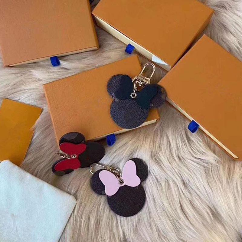 Дизайнерская цепь кулон женская сумка ювелирных украшений украшения высококачественного ключа цепь автомобиля с логотипом 3 цвета без коробки