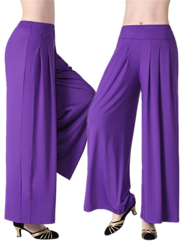 Danza del ventre Pant Women pantaloni lunghi Harem Danza modali Trouses largo di danza del ventre pantaloni tribali pantaloni fitness Harem