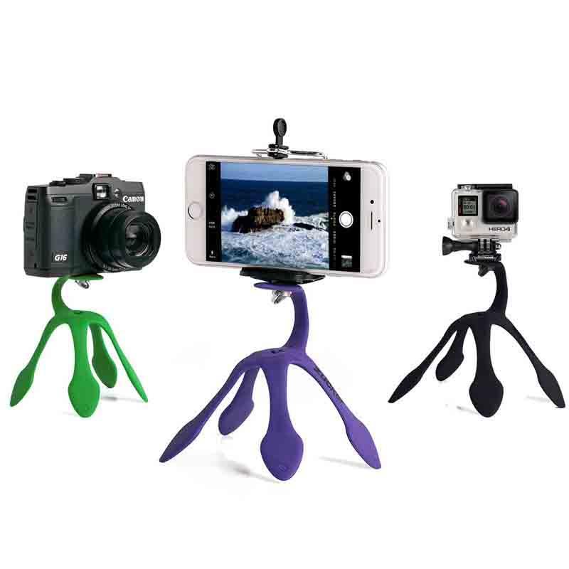 ترايبود Gekkopod زغة صغيرة قوس الأخطبوط المحمولة الهاتف المحمول الصغير الكاميرا الأخطبوط واحد الصور الشخصية للقوس