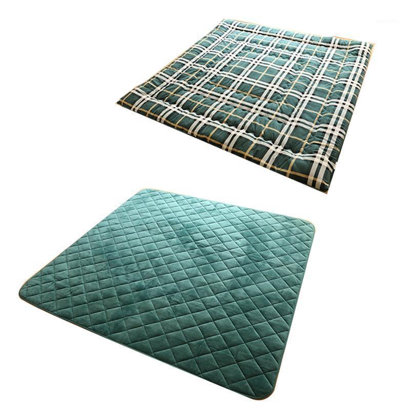 (2 pz / set) Quadrato Kotatsu futon Top Bort Bottom Set Consolatore per calda a piedi Tavolo in legno Giapponese Futon Materassi Materassi 1