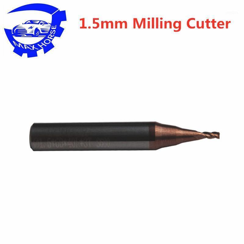 5 stücke 1,5mm Frässchneider für MINI CONDOR IKEYCUTTER CONDOR XC-007 Master Series Schlüssel Schneidemaschine1