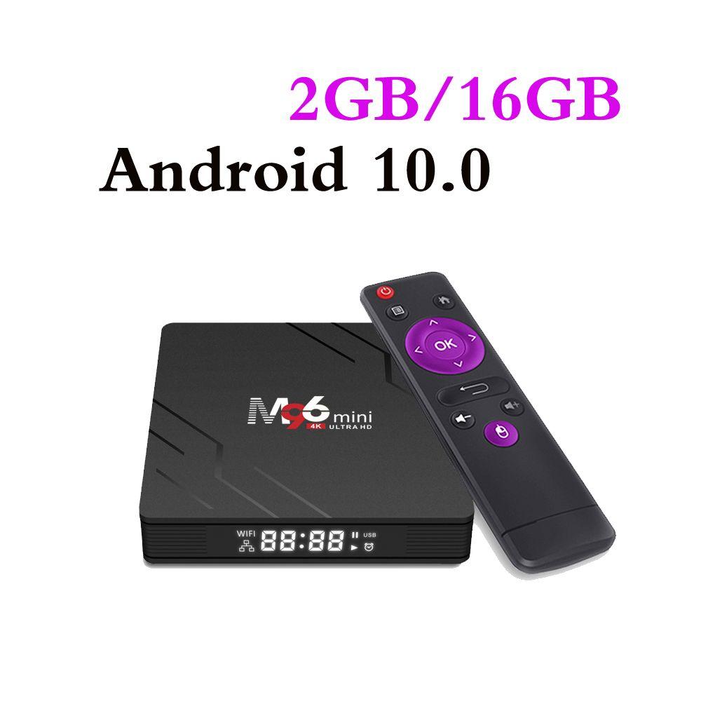 M96 Mini Android 9.0 TV Box 2GB 16GB RK3228A 2.4G 5G WIFI Bluetooth Set Top Box VS TX3 Mini MXQ Pro