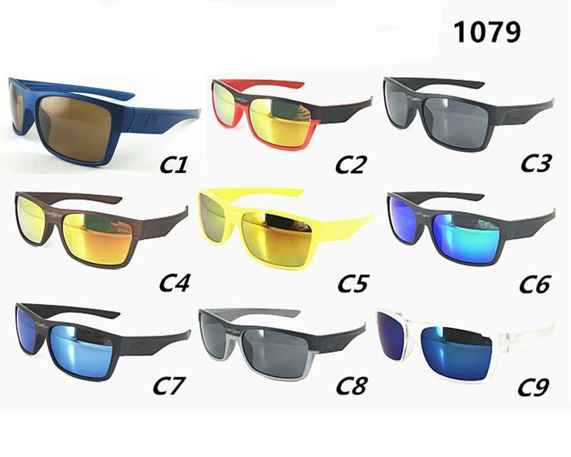 1079 Brand Sports Sunglasses Summer Men Bicycle Glasses Driving Cycling Goggles 9 Colors Good Quality Wholesale
