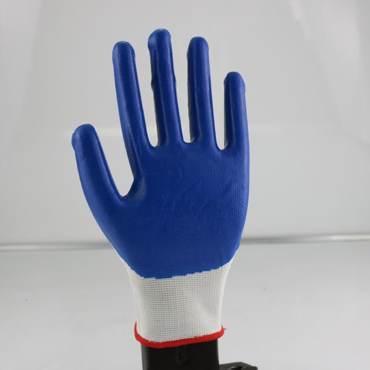 Окунитесь износостойкие одноразовые нитриловые перчатки для нитриловые трудовые латексные материалы защиты