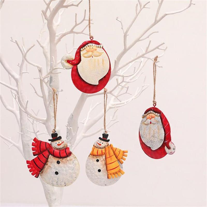 Новогодние украшения снеговика Рождество Главная Рождество висячие Подвески Navidad Санта-Клаус украшения для партии год дерево 2021 украшения AGSC