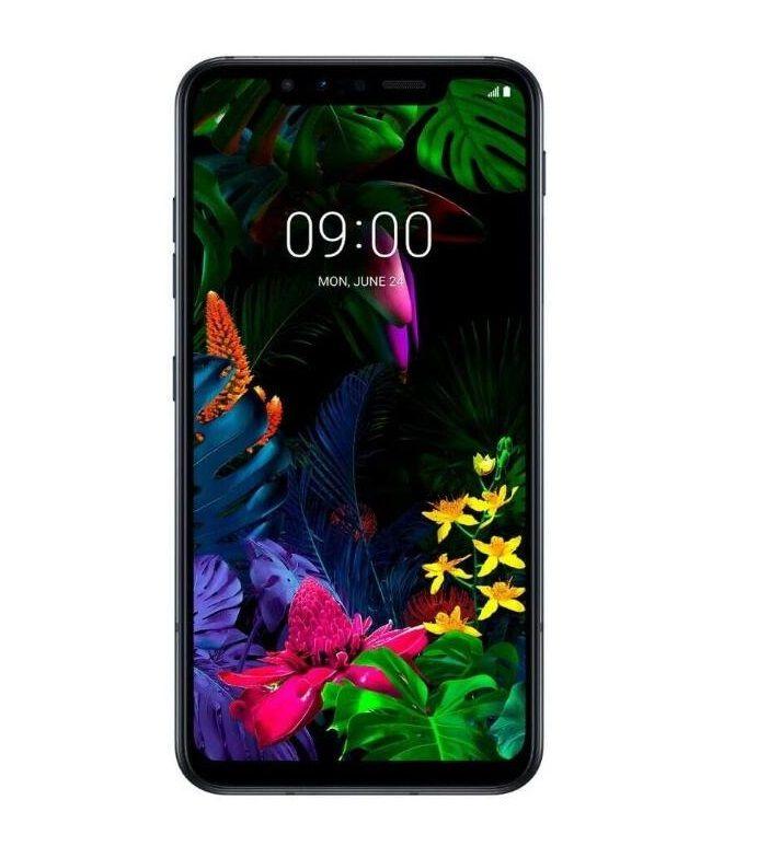 """تم تجديده الأصلي LG G8S THINQ LM-810EW الهاتف الخليوي مقفلة 6GB / 128GB 6.21 """"OLED عرض Snapdragon 855 المزدوج SIM 4G LTE"""