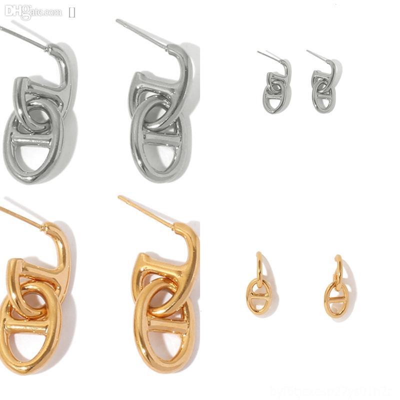 QSDPA Женщины Аметист Дизайн Степов Стерлингов Классические Серьги Ретро Серьги Мода Простая оригинальная коробка для Pandora Designer Silver Crystal