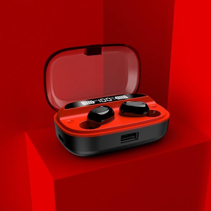 T18 TWS 5.0 Bluetooth Наушники Bluetooth Беспроводная Смарт-шумоподавление Наушники для смартфона