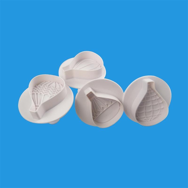 Frühlingsmodell Heißluftballon Muster Kreative Kekse Formen Anzug DIY Backen Gerät Mold Factory Direct Selling 2 8kla P1