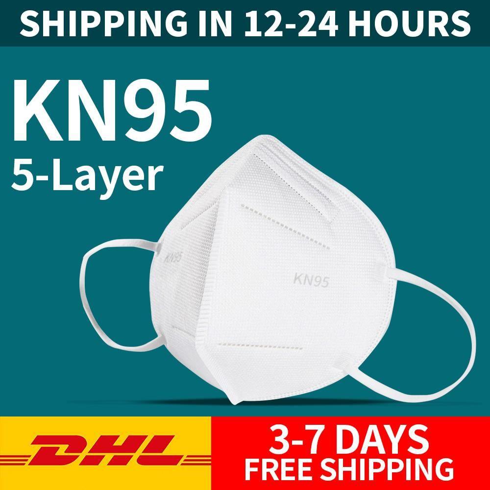 KN95 PM2,5 antipoussière Masque anti-poussière 95% Filtre Masque respirant Nez Métal confortable Masque FFP2 extérieur Caractéristiques de protection