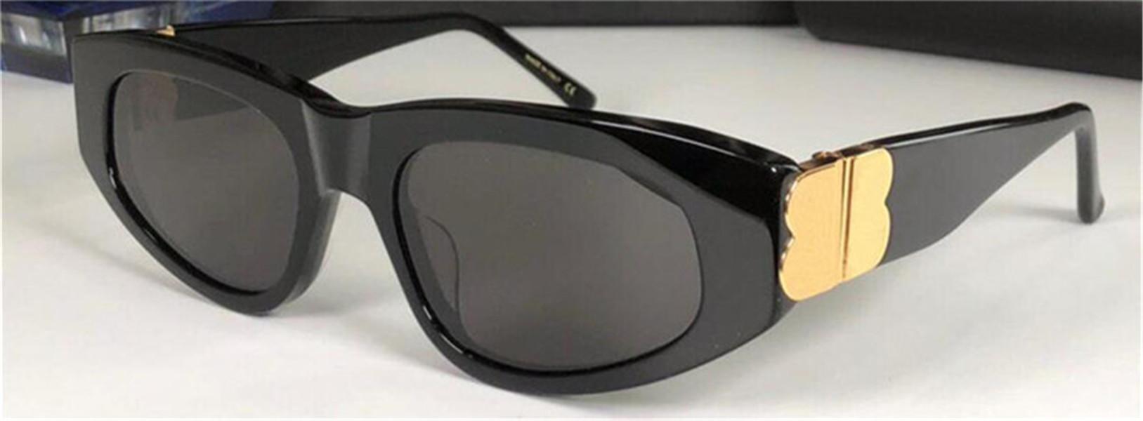 الرجال النظارات الشمسية تصميم الأزياء النظارات 0095 القط العين الإطار نمط أعلى جودة uv400 نظارات واقية مع حالة سوداء