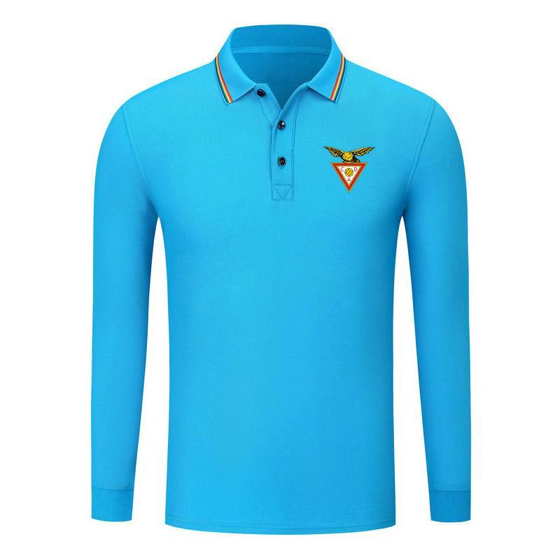 AVES automne Nouveau coton à manches longues à manches confortables Polo à manches longues à manches longues à manches longues à manches longues Polo Football Sports Shirt