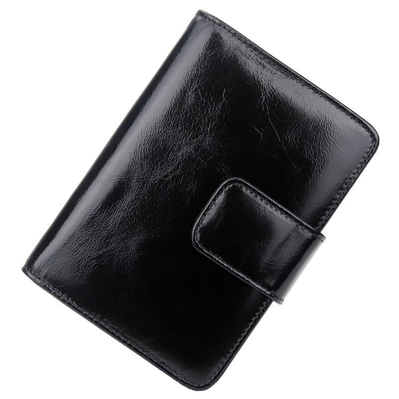 Bolso de tarjeta multifuncional multifuncional de la billetera de la cartera corta del estilo de la piel del nuevo estilo