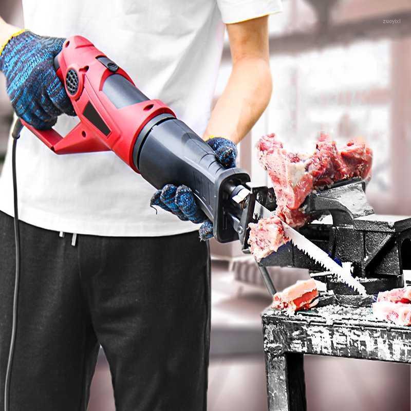 Meuleuses de viande 220V Machine à découper des os ménagers Trotters Trotters Steak Côtes de poisson congelé Tuyaux à la tronçonneuse1