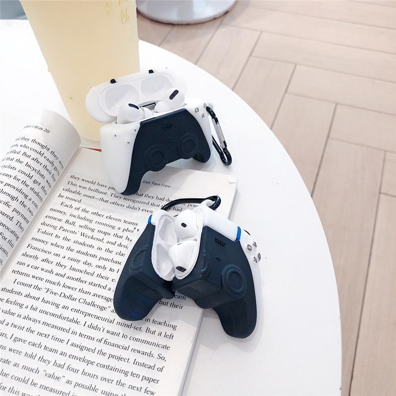 Бренд PS5 Game Console Disk 3D Case для AirPods 1 2 PRO Зарядная Коробка Мягкие Силиконовые Беспроводные Bluetooth Наушники Защитить Чехол Крышки MQ30