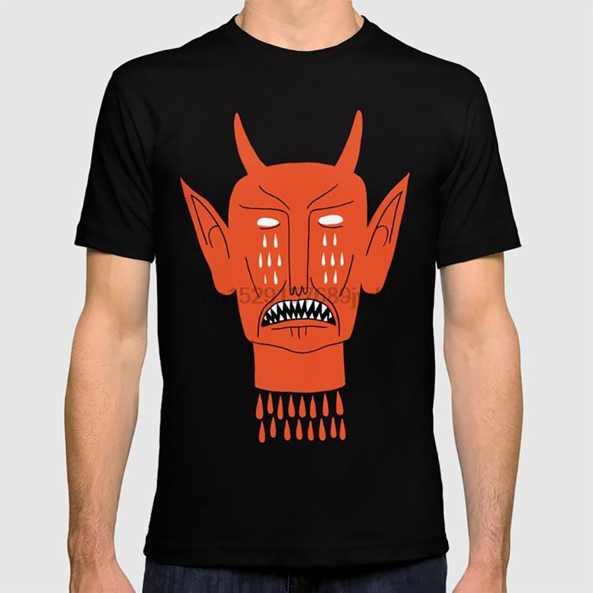 Devils Red Head Démon Diable Larmes de sang Folk Horror Beast designers audacieux hoodie Naive T-shirts sweat-shirt