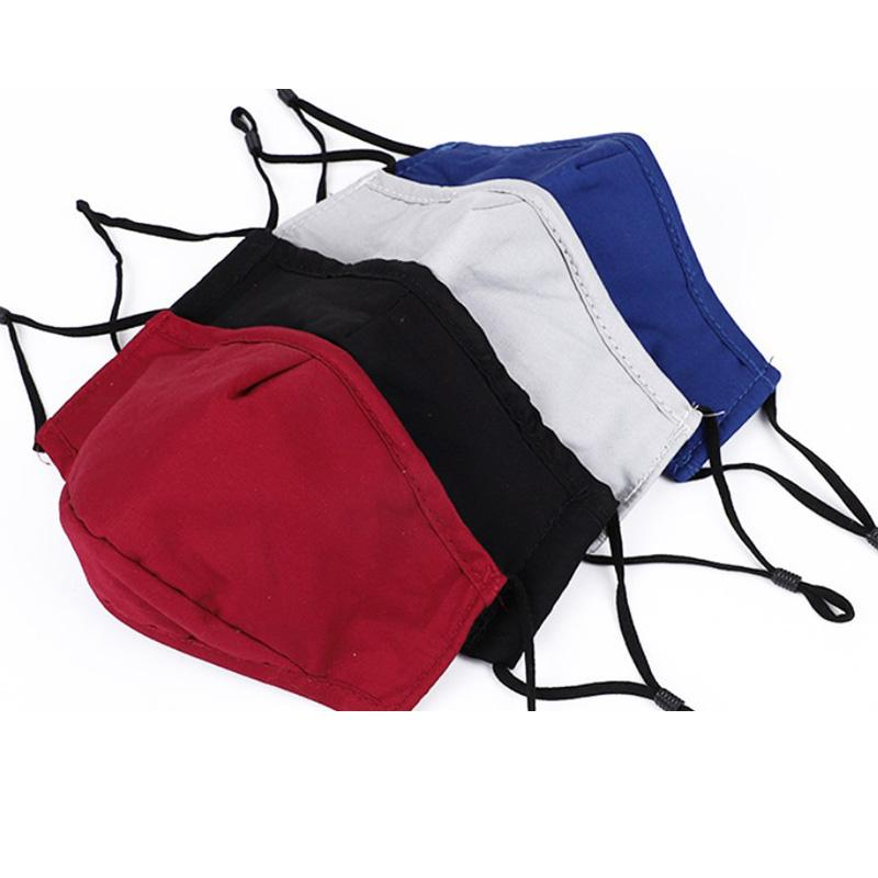 DHL бесплатная доставка горячая парусная многоразовая хлопчатобумажная маска для лица с карманом для фильтра на открытом воздухе, велосипедная маска для лица для человека