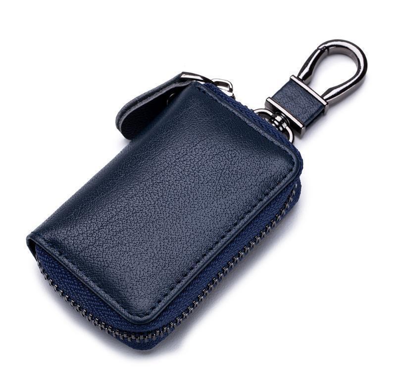 Porte-clés de luxe en cuir PU Unisexe Zipper Carte de voiture Bag de la mode Mini Sacs de rangement pour dames et messieurs JLLSQK LY_BAGS