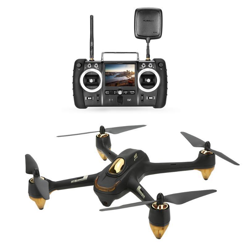 H501S Pro X4 5.8G FPV selfie Drone Brushless RC Drone avec caméra 1080P 10 canaux télécommande RC GPS Quadcopter