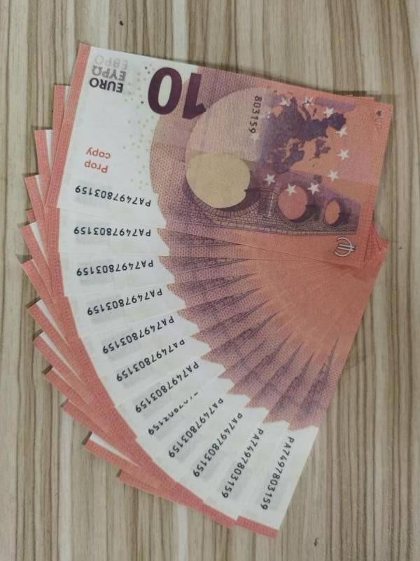 Family Game Paper Banknote Or 100pcs/pack Toy007 Most Prop Kids Us Money Copy Realistic /euro/dollar Hinrq