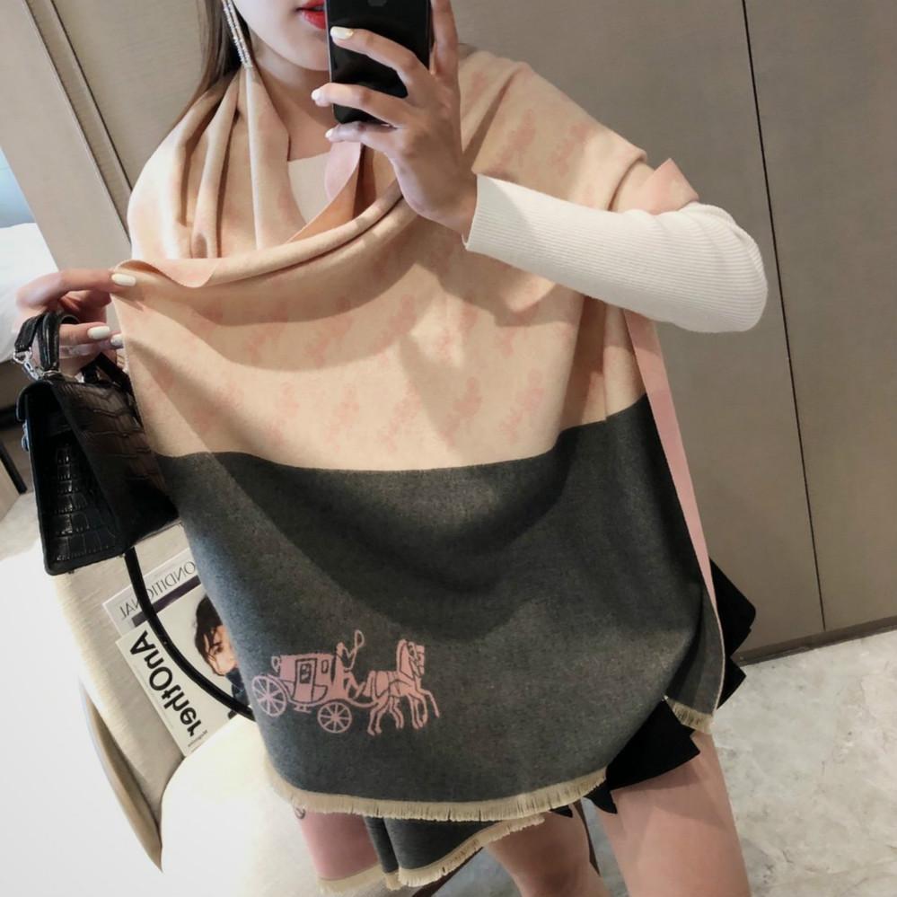 2020Fashionable горячая продает женский шарф платок теплого роскошный женского осень зима шарф хорошая коллокация Кондиционер комната