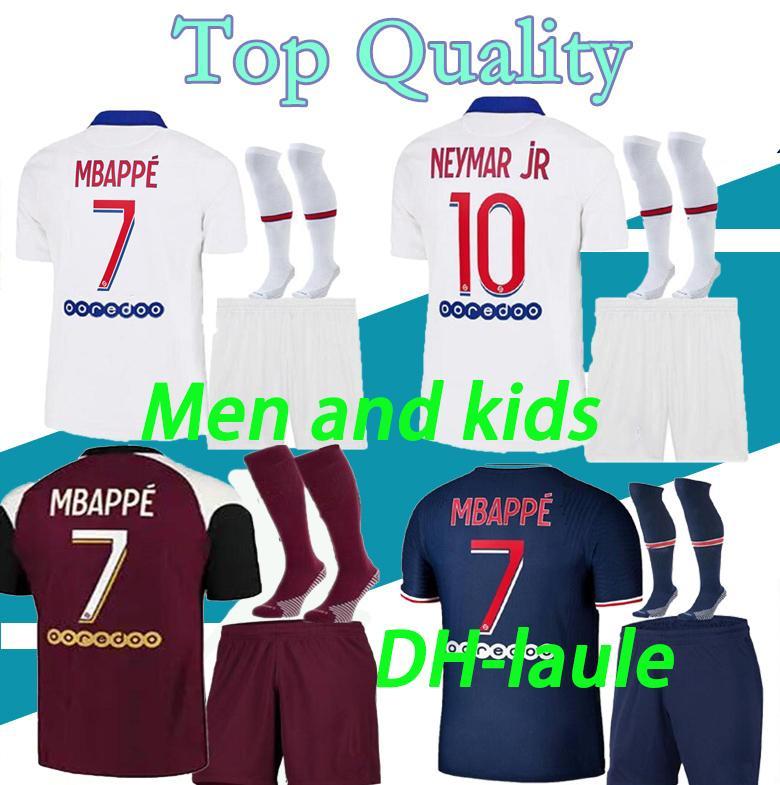 16-2XL adult and kids Maillots de football kits 20 21 Paris soccer jersey 2020 2021 MBAPPE ICARDI shirt men maillot de foot hommes enfants