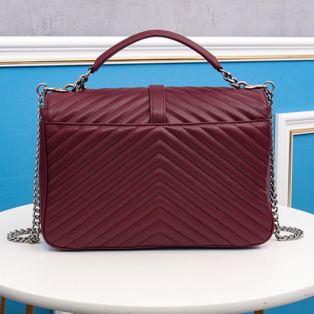 Diseñador Hombro de lujo Speedy Handbagstore888 Bolsos Bolsos Mujeres Vqbau Flap Bolsa de cadena real MANGO89711 Crossbody acolchado 30 LEATH MBDJ