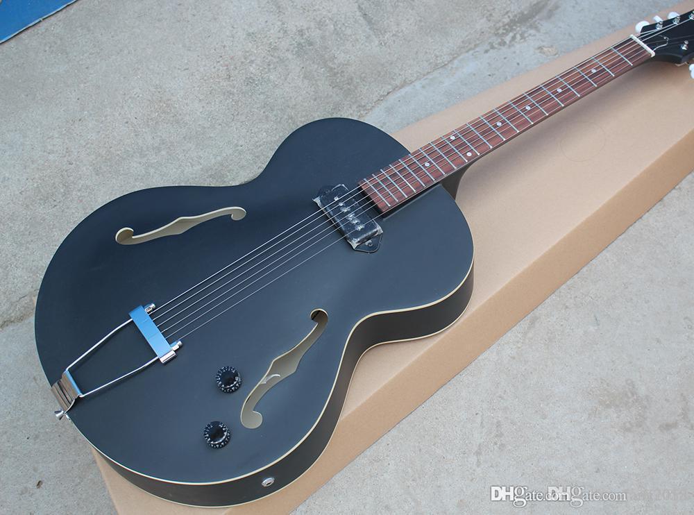 1 Pickup, Beyaz Tuner, Gülağacı ile Mat Siyah Elektro Gitar, Krom Madeni Özel Teklif