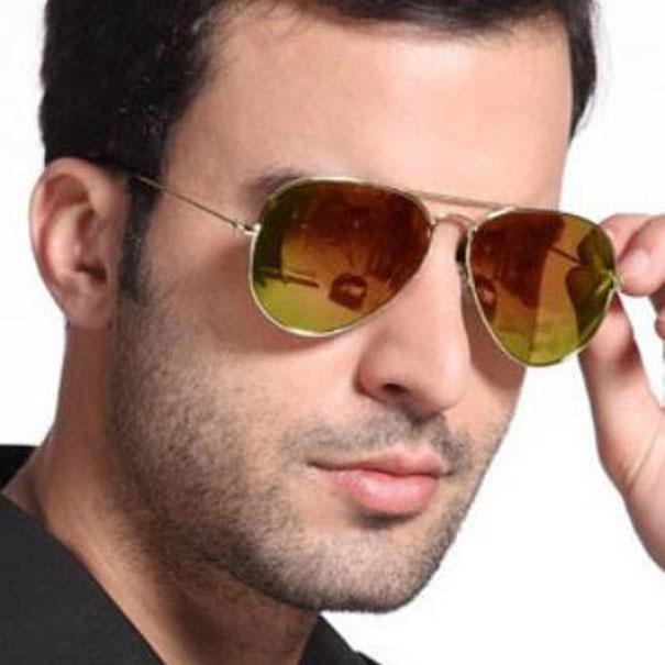Klassische Pilot Sonnenbrille 62mm Männer Frauen UV400 Neue Designer Shades Gespiegelte Brillen für männliche Marke Fahrer Sonnenbrille T481 mit Fällen