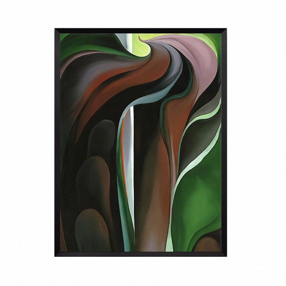 Abstrakt Ölgemälde auf Leinwand für Wohnzimmer-Grafik Bunte Geschenk Kreativer Hauptdekor-Ölgemälde Unframed oek7 #