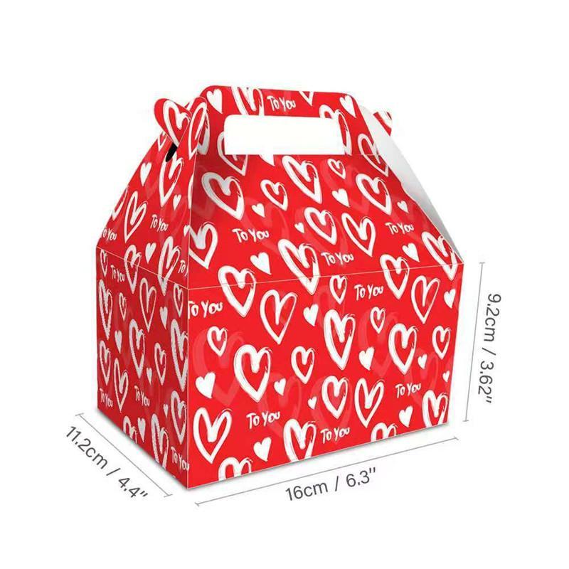 Валентина подарок сумка сумка красная розовая любовь напечатана пара подарочная сумка 210 г экологически чистые бумаги подарочная упаковка сумка 172 n2