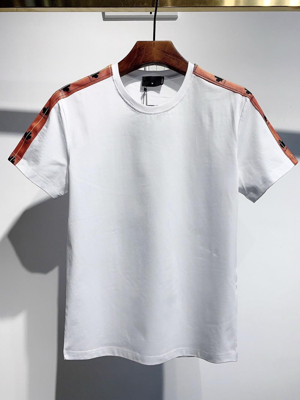 Frühling und Sommer 2021SS Neueste Stil T-Shirt, Herren Freizeit T-Shirt, Marke Hohe Qualität Freizeit T-Shirt DTS583