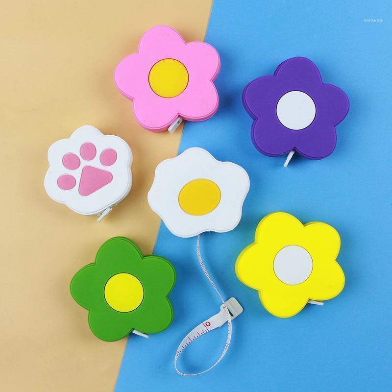 Cute Cartoon Leather Ruler 1M Portable Multipurpose PVC 1Pcs Tape Measure Household1