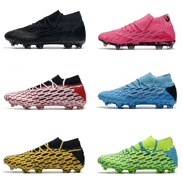 Future 5.1 Netfit FG Flash scarpe da calcio PACK SPARK Ultra Rosa Giallo Zlatan Ibrahimovic Flash luminoso Blu Energy Blue tacchetti da calcio