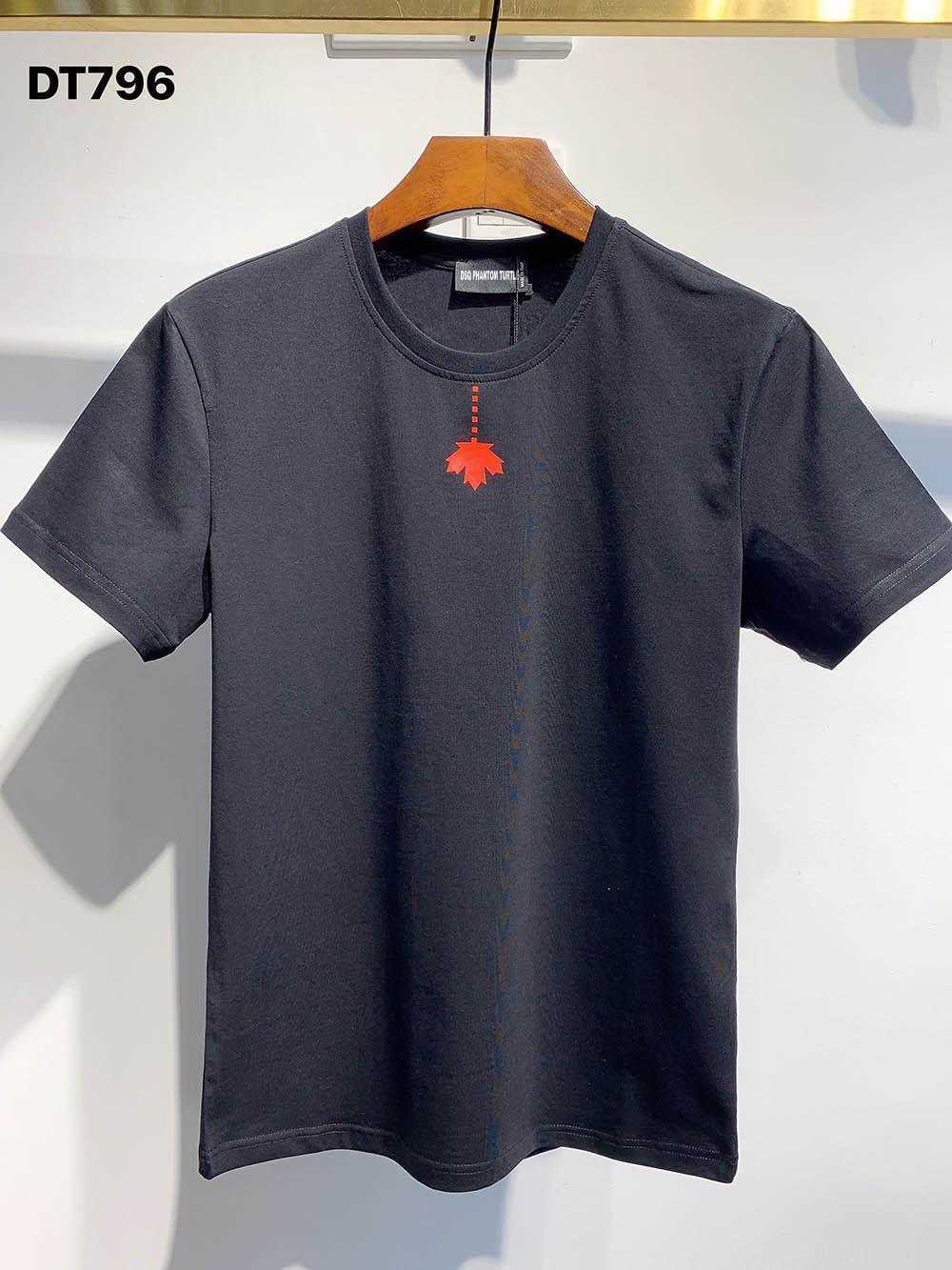DSQ Phantom Turtle 2021ss New Mens Designer T-shirt Paris Mode T-shirts Été DSQ Modèle T-shirt Homme Top Qualité 100% coton Top 1043