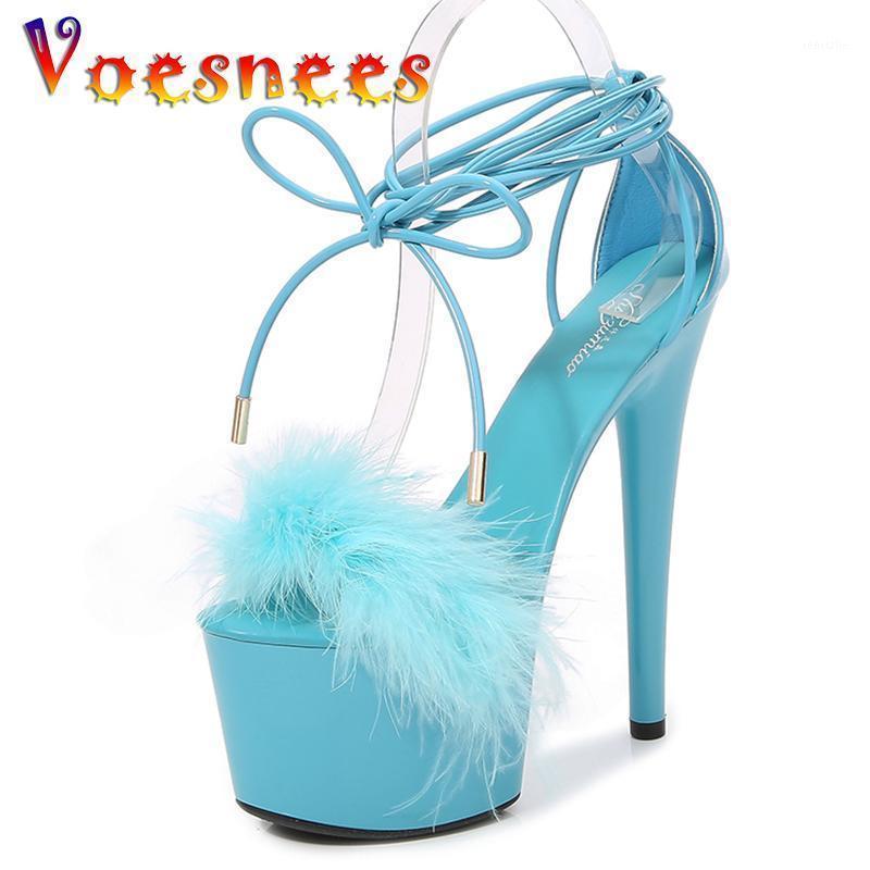 Vesees Mur High каблуки на платформе сандалии женские туфли 17см сексуальный открытый носок свадебное платье обувь Летние сандалии женский гладиатор Shoe1