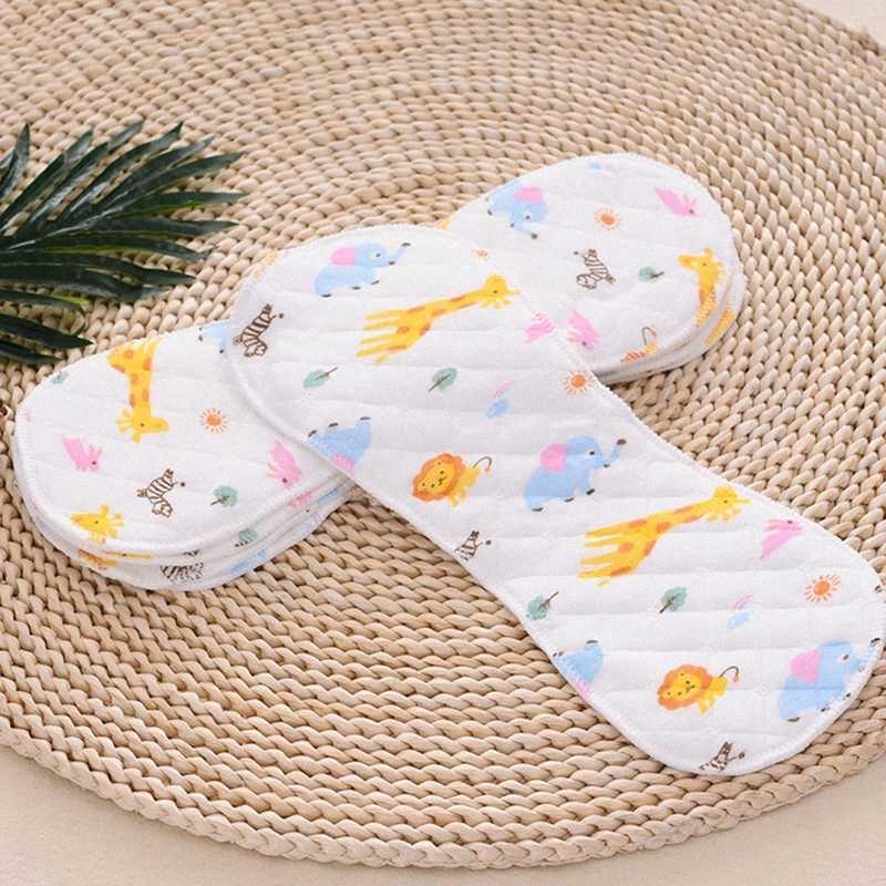 1Pack Baby Tuch Windeln wiederverwendbare Hautfreundliche Baby-Printed Peanut Windel Tragbarer zusammenklappbarer Kinderpflege-Produkt OERR #
